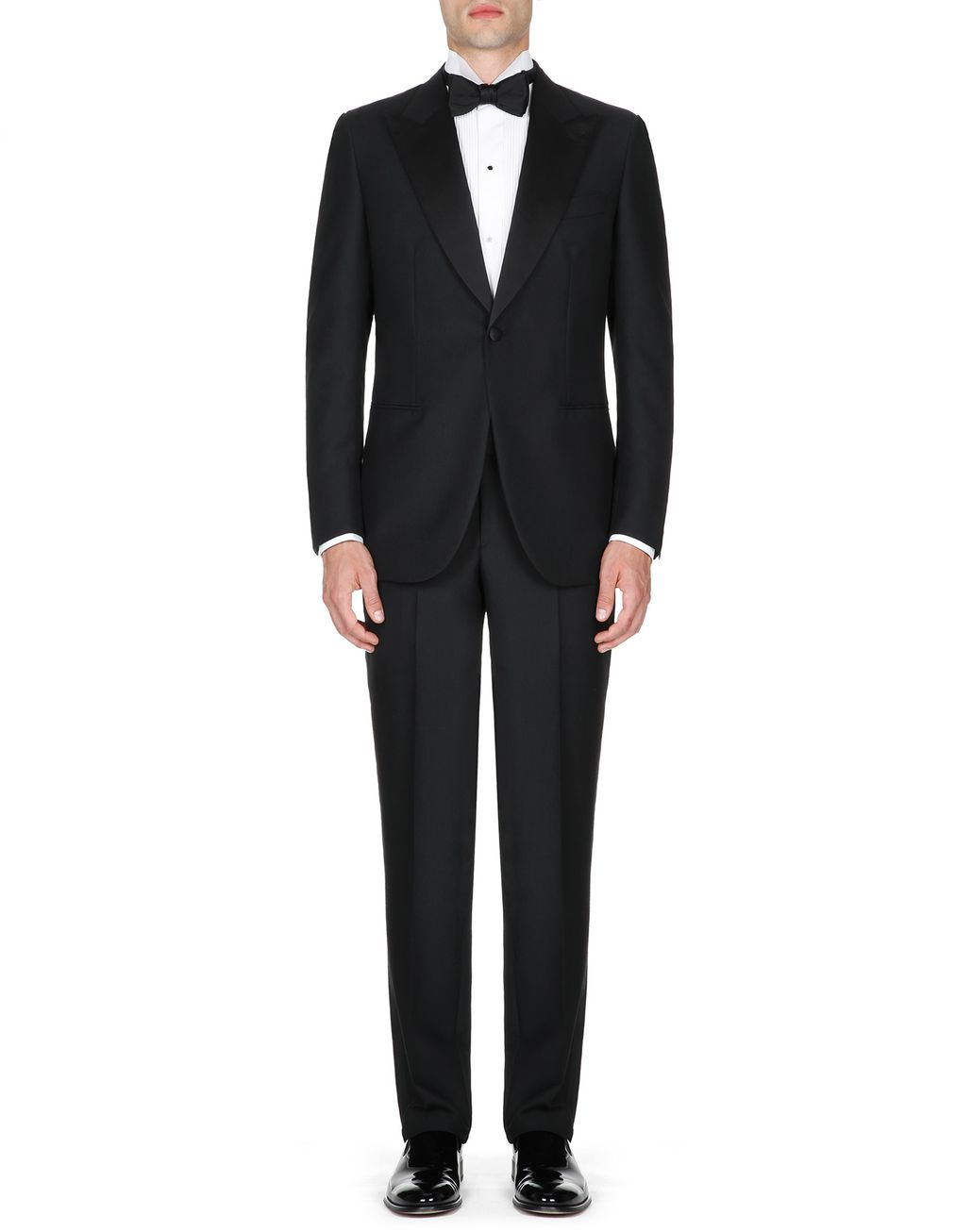 BRIONI Black Parioli Tuxedo Suit  Suits & Jackets Man r