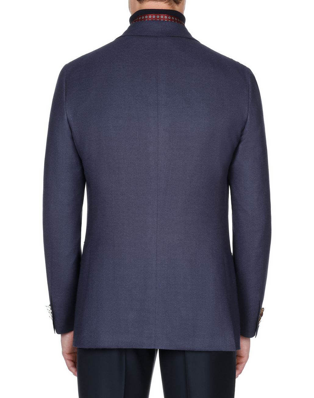 BRIONI Navy Blue Ravello Jacket Suits & Jackets Man d