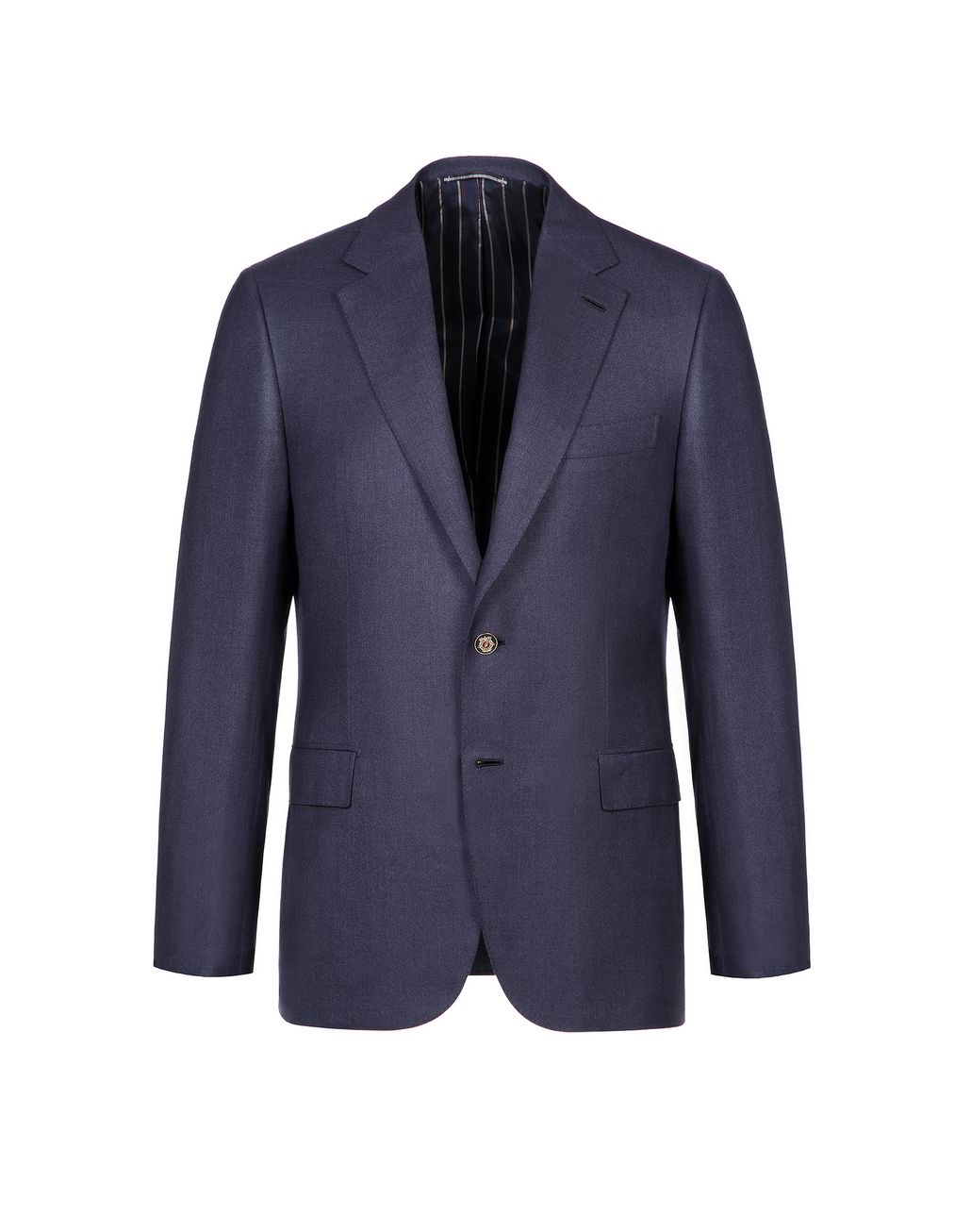 BRIONI Navy Blue Ravello Jacket Suits & Jackets Man f