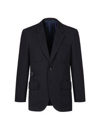 Navy Blue Travel Jacket