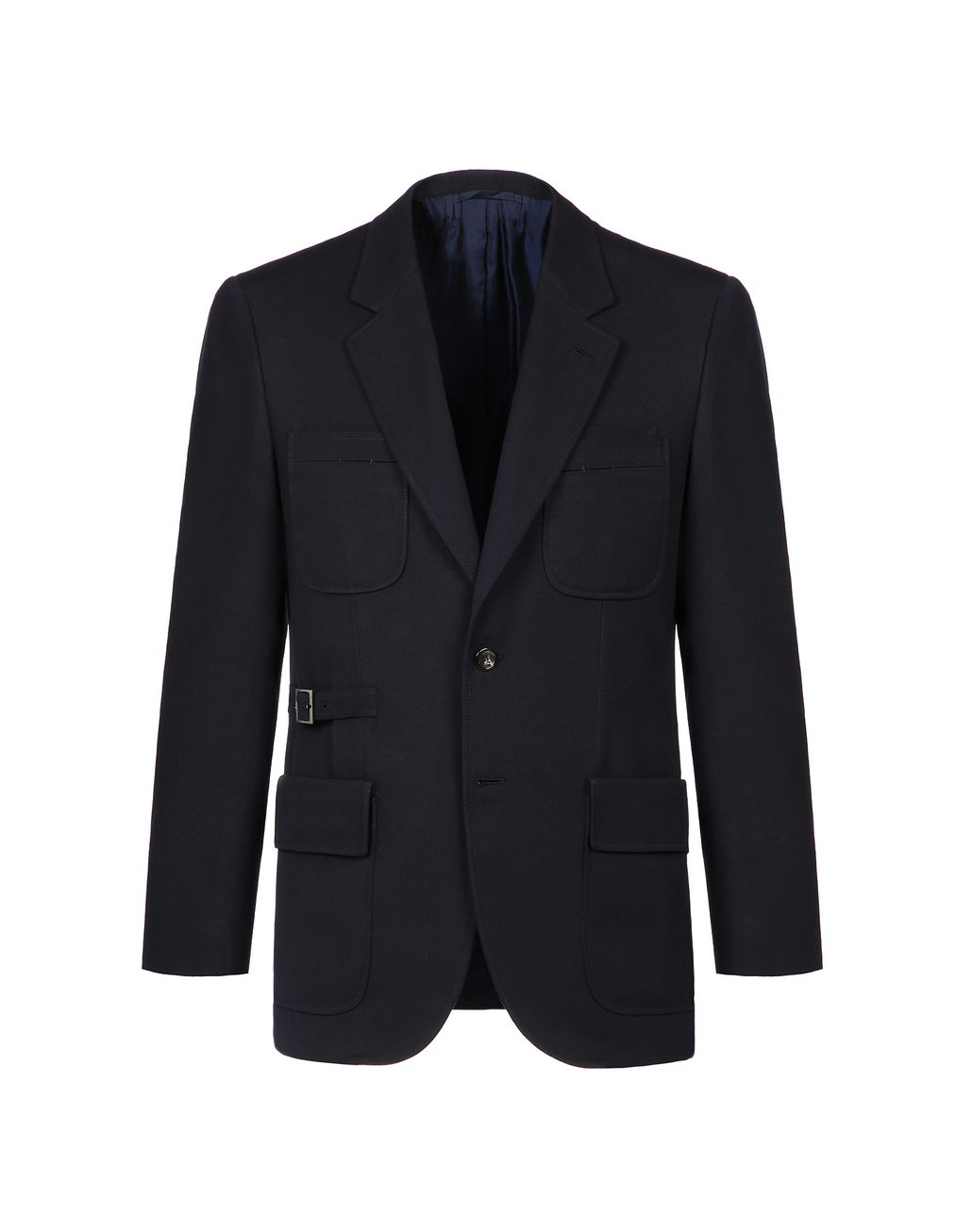 BRIONI Navy Blue Travel Jacket Formal Jacket Man f