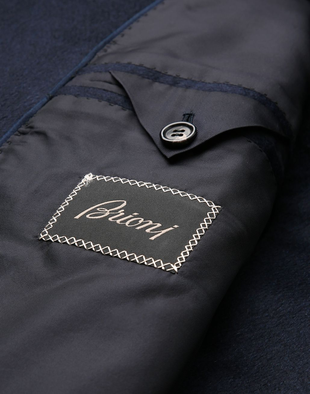 BRIONI Midnight Blue Priverno Coat Outerwear [*** pickupInStoreShippingNotGuaranteed_info ***] b