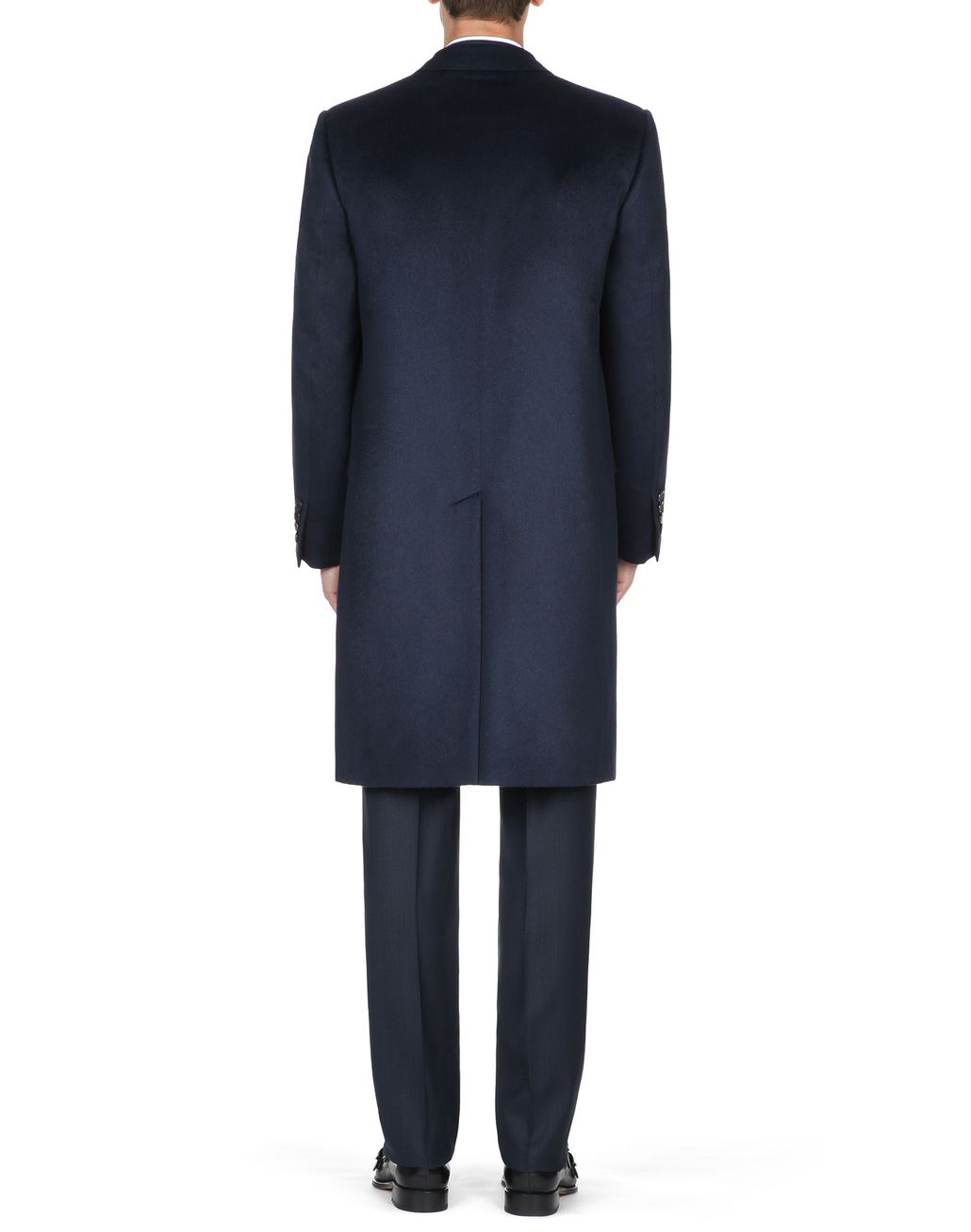 BRIONI Midnight Blue Priverno Coat Outerwear [*** pickupInStoreShippingNotGuaranteed_info ***] d