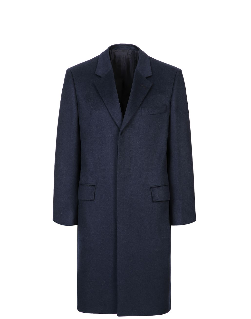 BRIONI Midnight Blue Priverno Coat Outerwear Man f