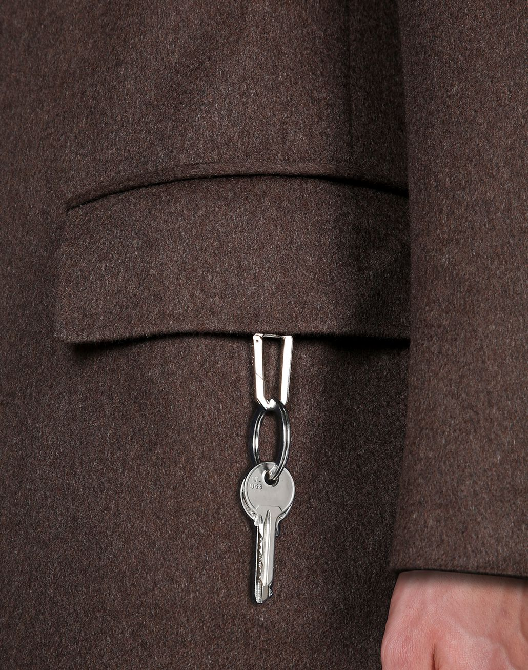 BRIONI Brown Priverno Coat Outerwear Man a