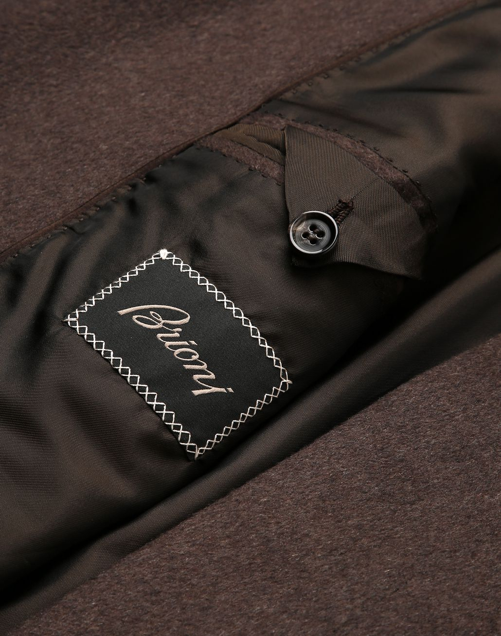 BRIONI Brown Priverno Coat Outerwear [*** pickupInStoreShippingNotGuaranteed_info ***] b