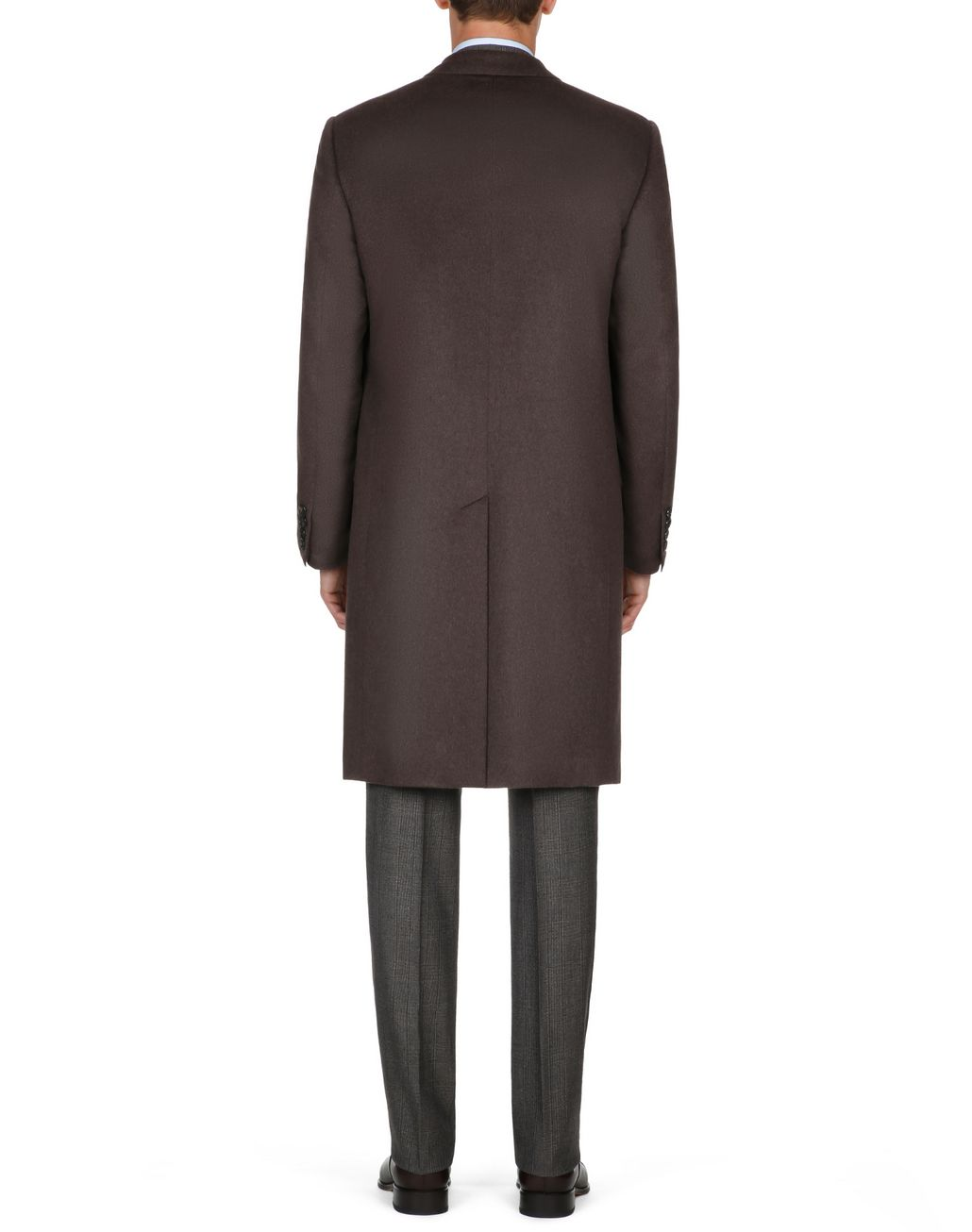 BRIONI Brown Priverno Coat Outerwear Man d
