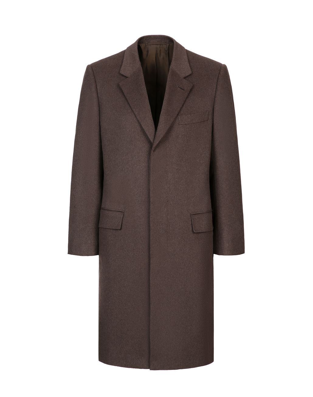 BRIONI Brown Priverno Coat Outerwear Man f