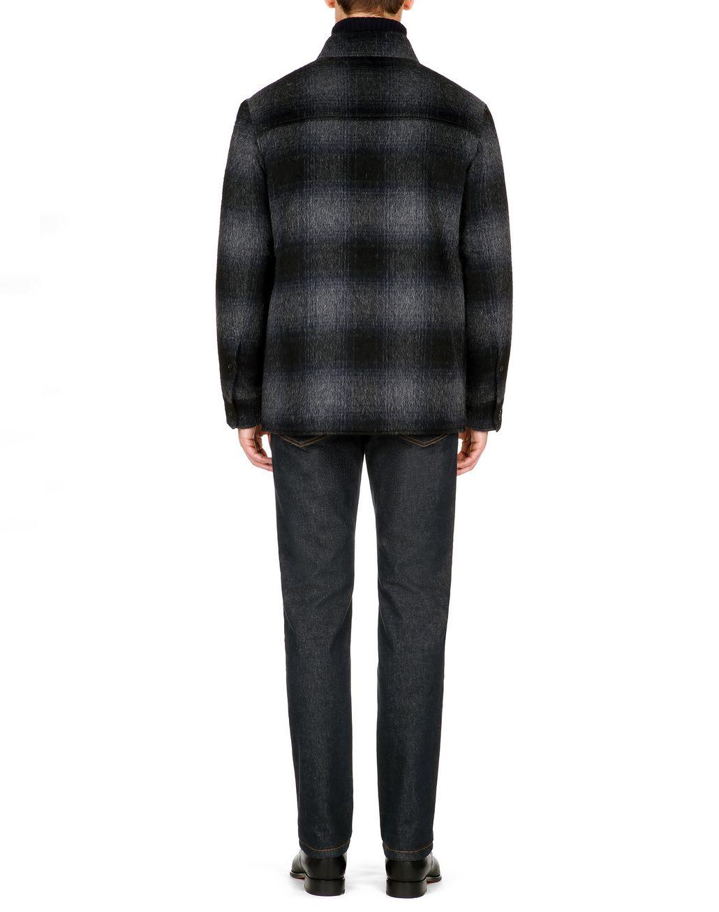 BRIONI Канадская куртка антрацитового цвета Верхняя одежда [*** pickupInStoreShippingNotGuaranteed_info ***] d