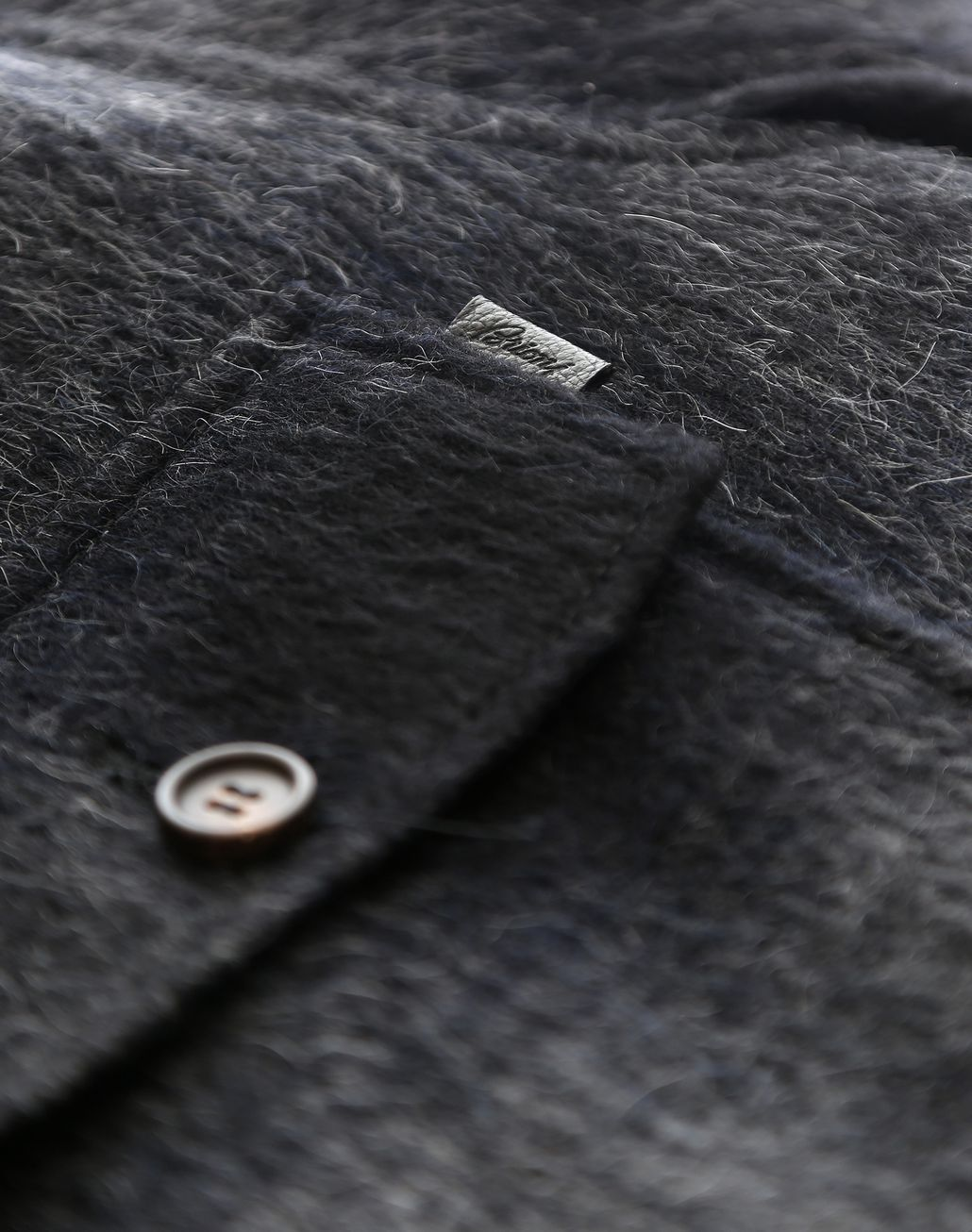 BRIONI Канадская куртка антрацитового цвета Верхняя одежда [*** pickupInStoreShippingNotGuaranteed_info ***] e