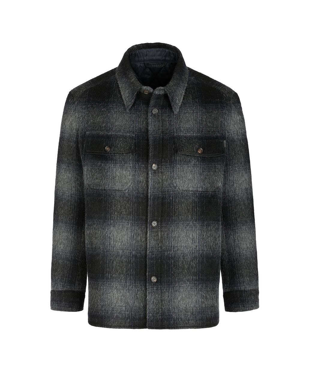 BRIONI Канадская куртка антрацитового цвета Верхняя одежда [*** pickupInStoreShippingNotGuaranteed_info ***] f