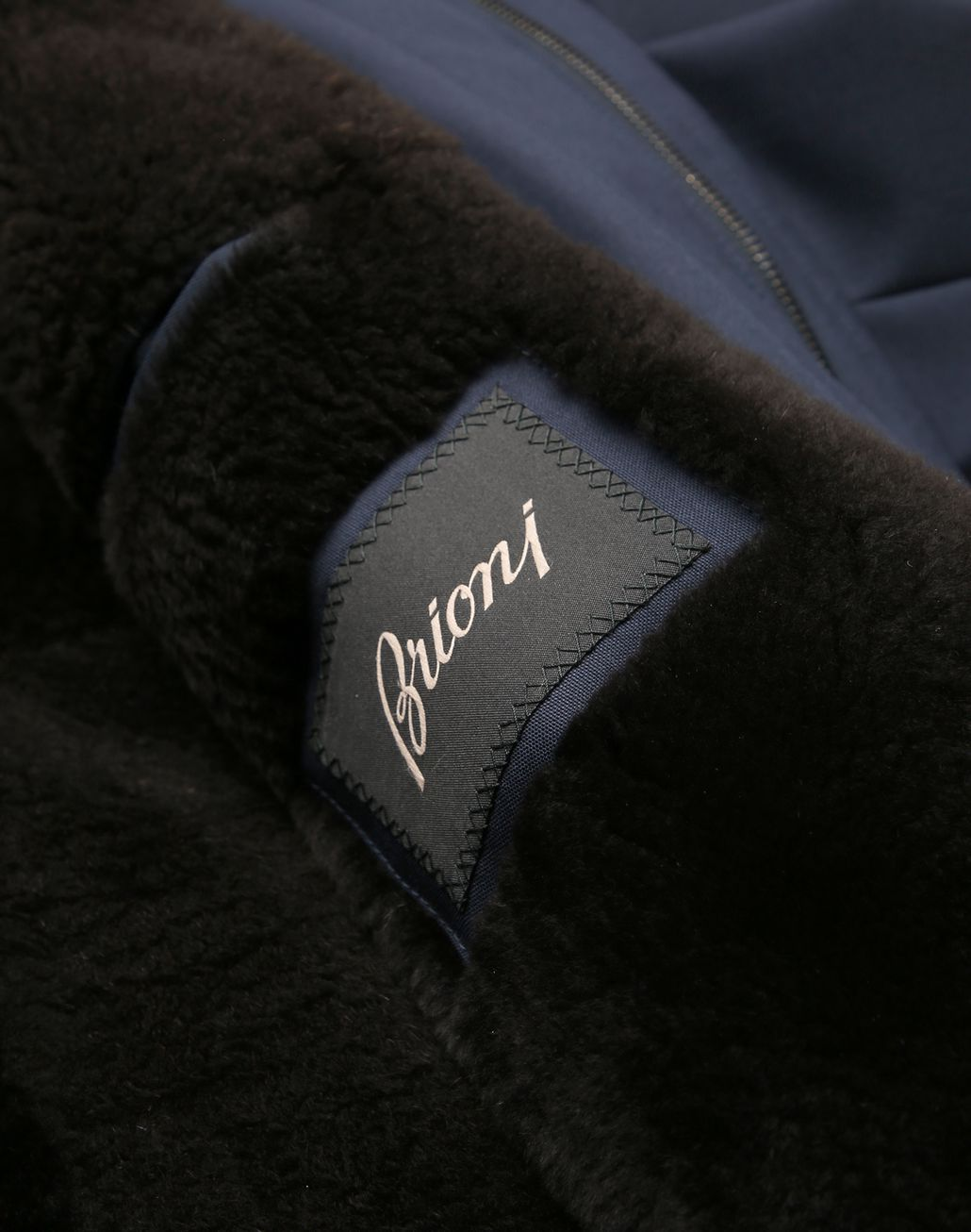 BRIONI Midnight Blue Field Jacket Outerwear [*** pickupInStoreShippingNotGuaranteed_info ***] b