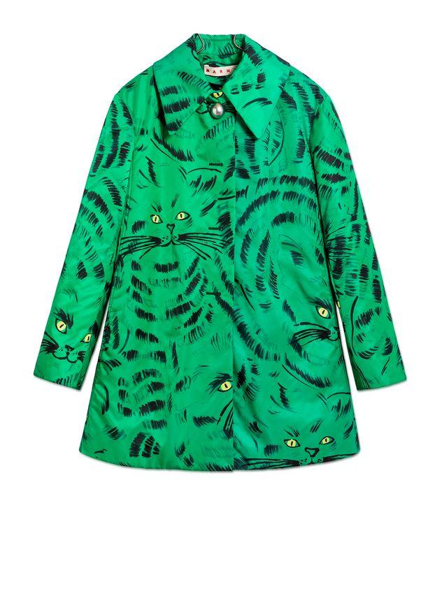 Marni Jacket in nylon twill with Hop print Woman - 2