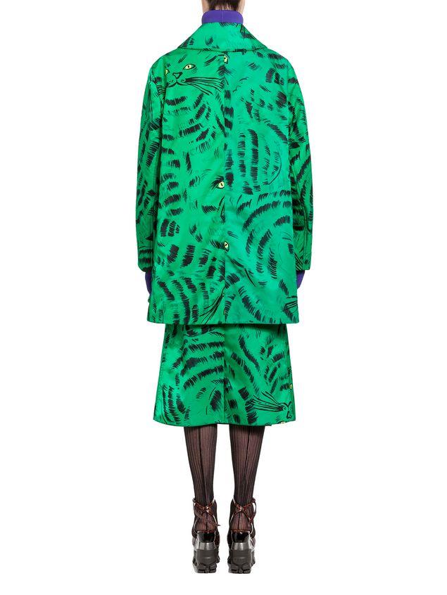 Marni Jacket in nylon twill with Hop print Woman - 3