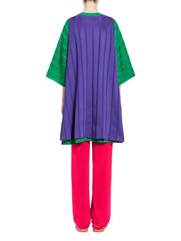Marni Sleeveless tunic in viscose and nylon Woman