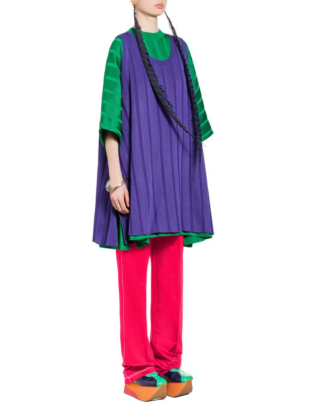 Marni Sleeveless tunic in viscose and nylon Woman - 4