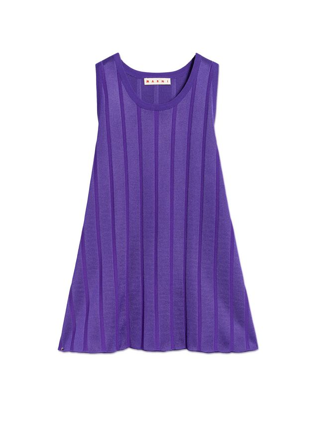 Marni Sleeveless tunic in viscose and nylon Woman - 2