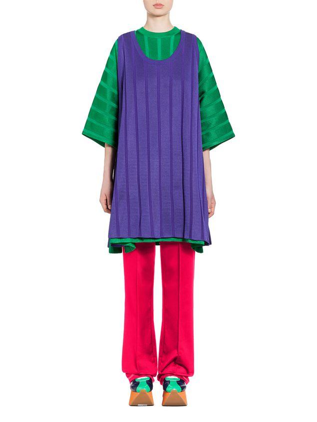 Marni Sleeveless tunic in viscose and nylon Woman - 1