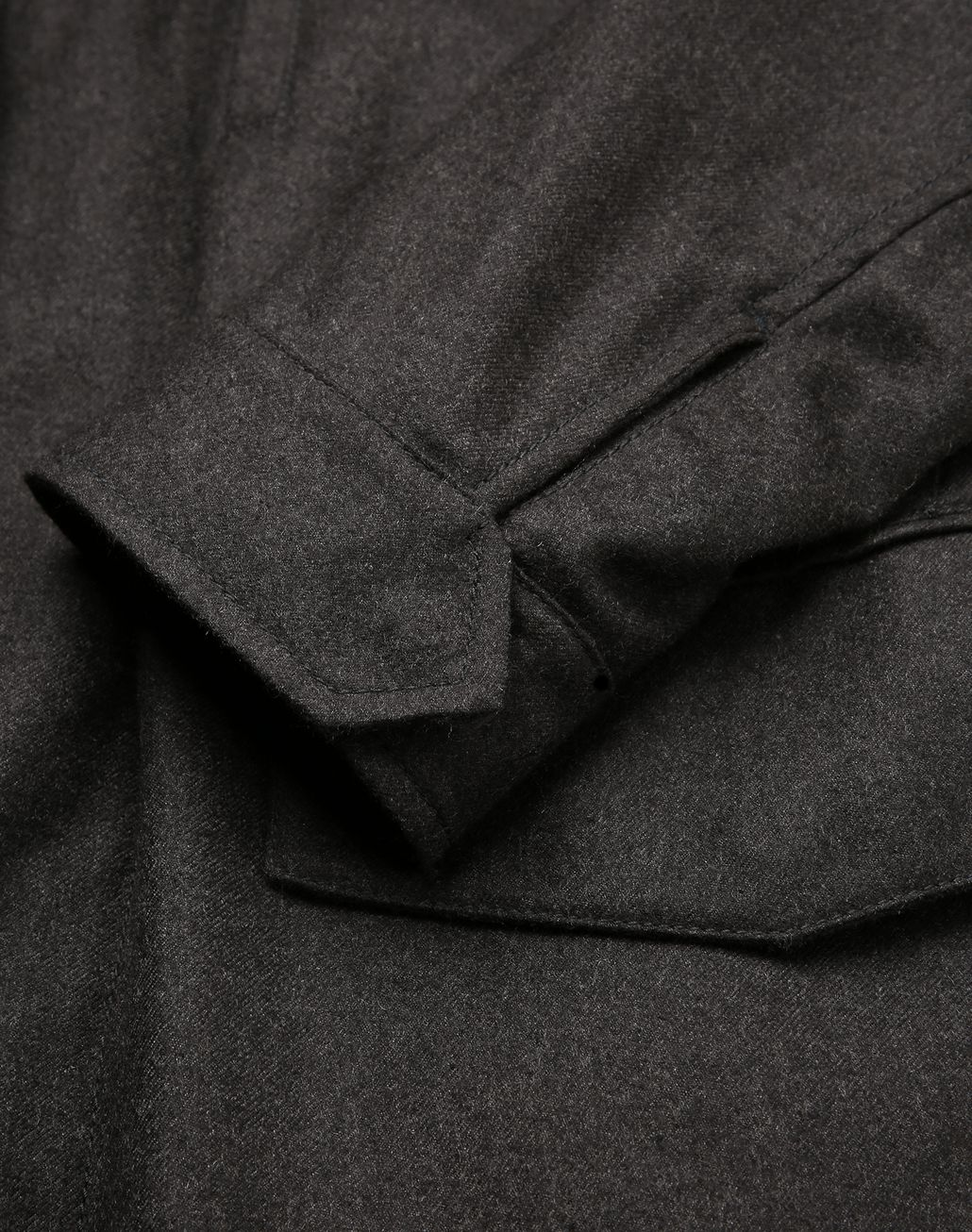 BRIONI Anthracite Field Jacket Coats & Raincoats [*** pickupInStoreShippingNotGuaranteed_info ***] a