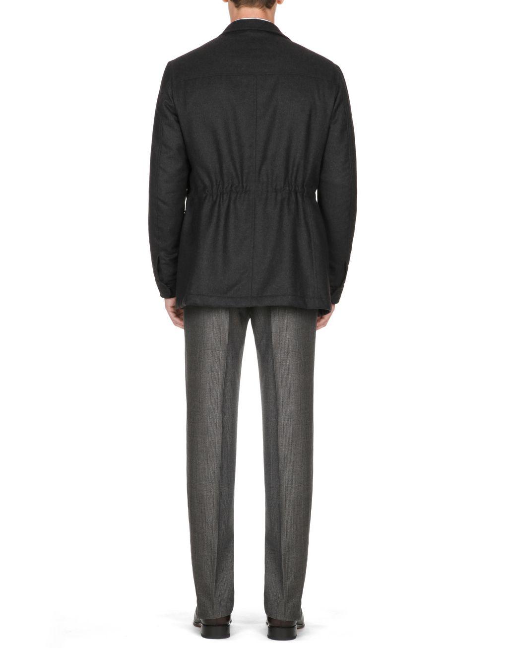 BRIONI Field Jacket Antracite Cappotti & Impermeabili Uomo d