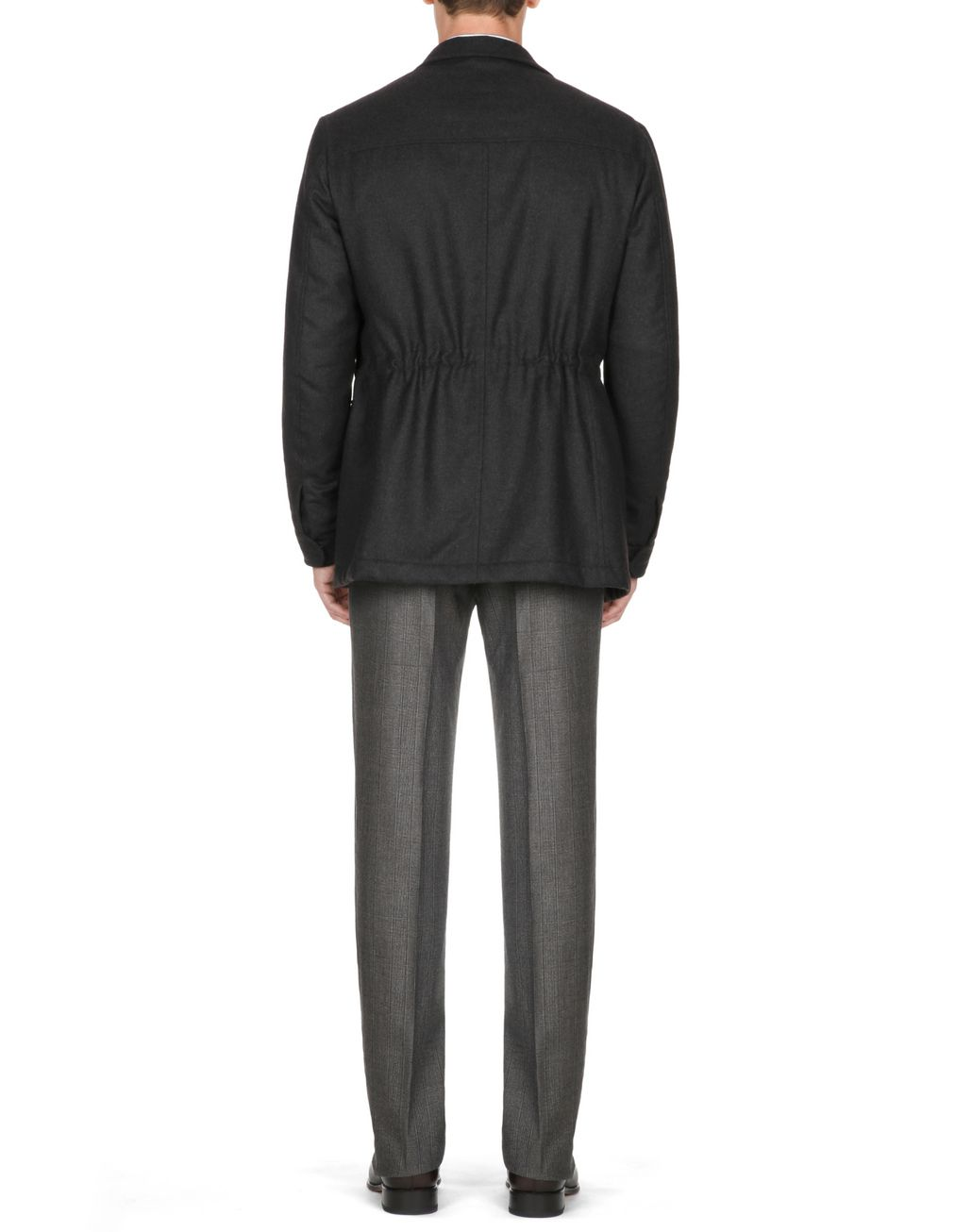 BRIONI Field Jacket Antracite Cappotti & Impermeabili [*** pickupInStoreShippingNotGuaranteed_info ***] d