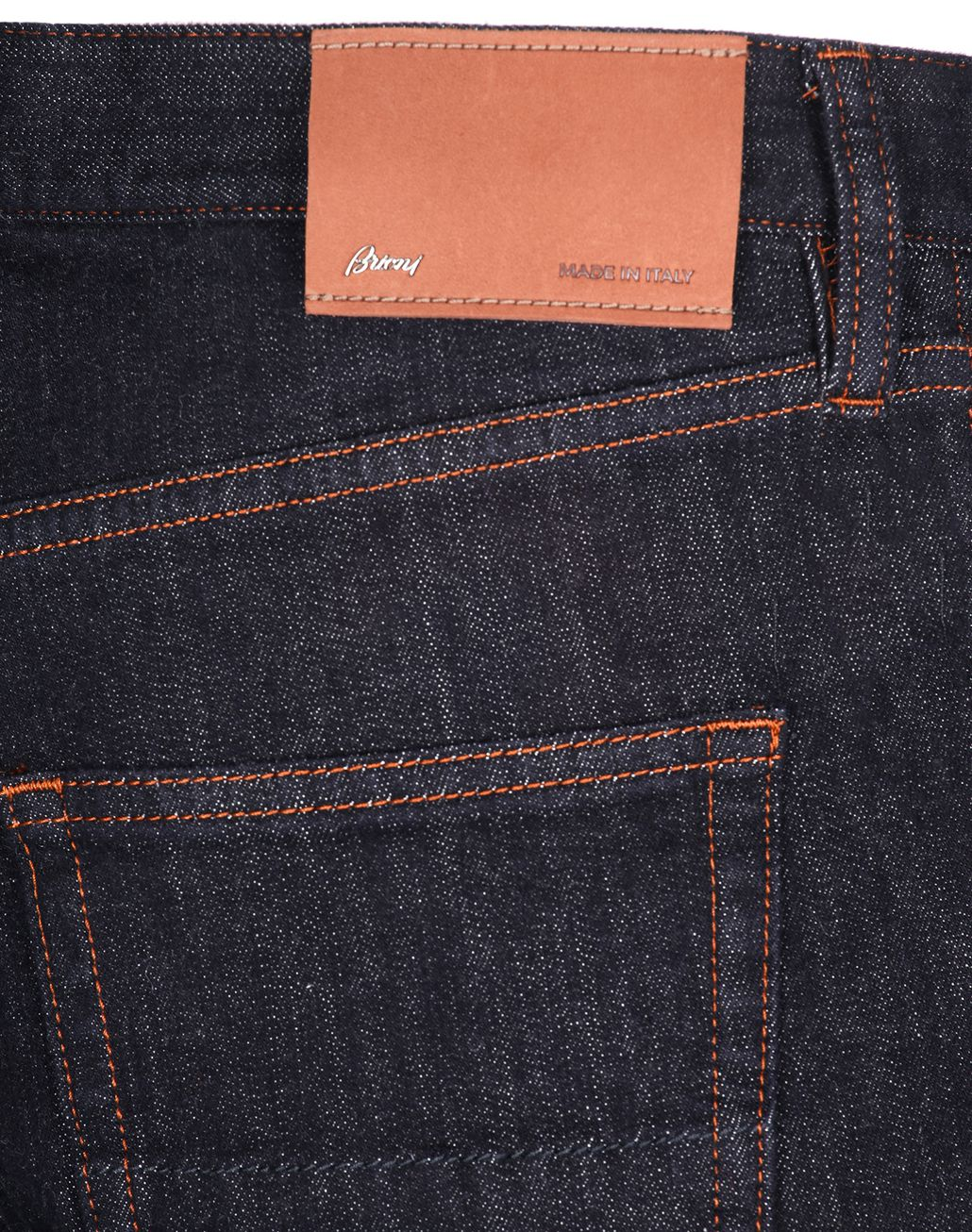 BRIONI Dark Blue Jeans Denim Man e
