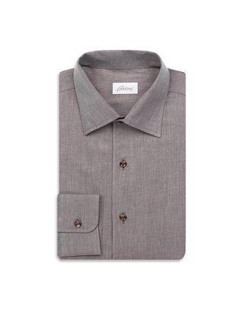 Brown Slim Fit Shirt