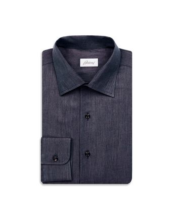 Navy Blue Slim Fit Shirt