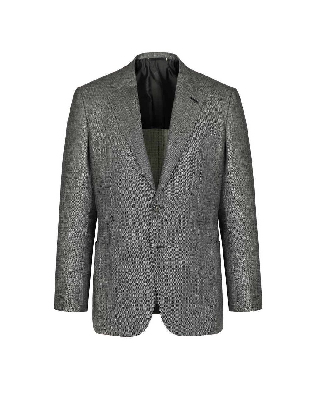 BRIONI Gray Condotti Jacket Jackets [*** pickupInStoreShippingNotGuaranteed_info ***] f