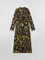 Marni Dress in sablé viscose with Danna print Woman - 2