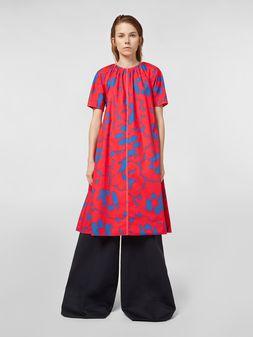 Marni Dress in poplin with Belou print Woman