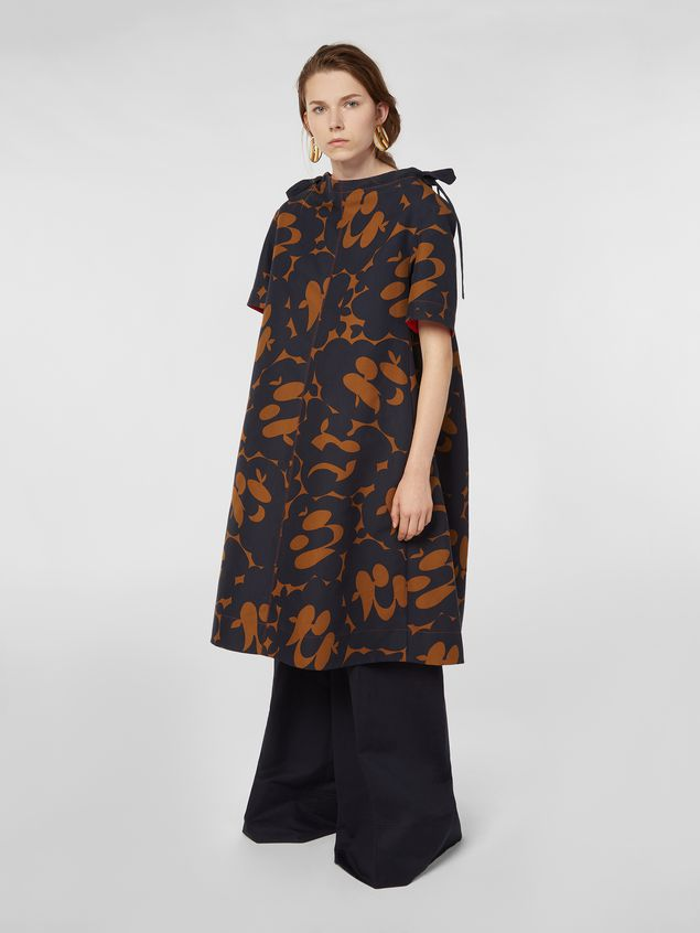 Marni Dress in cotton cady with Belou print Woman - 1