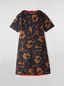 Marni Dress in cotton cady with Belou print Woman - 2