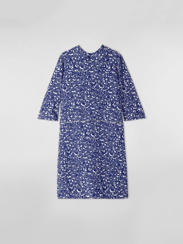 Marni Silk crepe dress with Lylee print Woman - 2