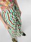 Marni V-neck dress in faded striped cotton Woman - 4