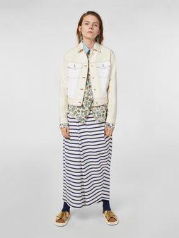 Marni Raw cotton drill jacket Woman