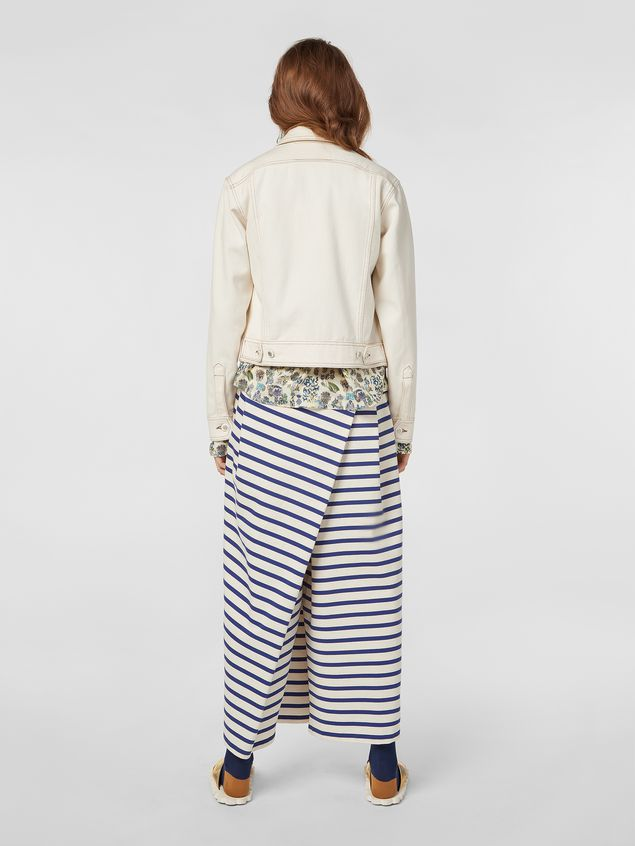 Marni Raw cotton drill jacket Woman