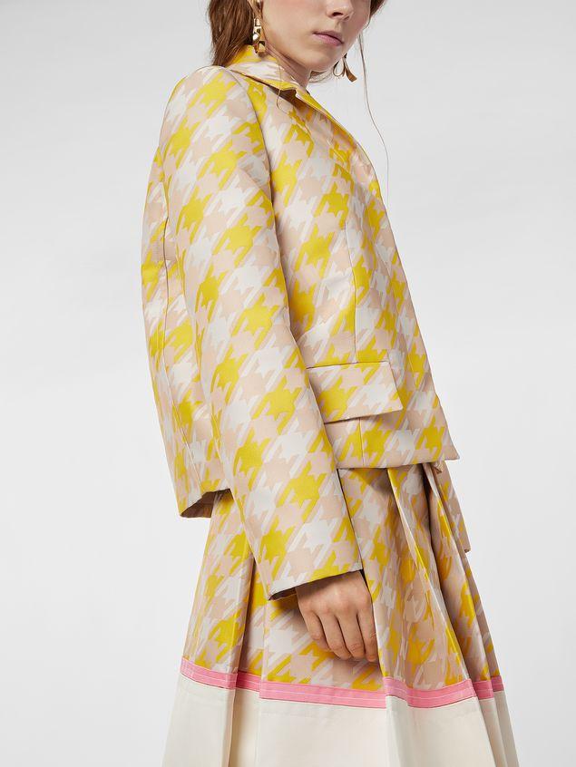 Marni Jacket in macro Houndstooth techno fabric  Woman - 4