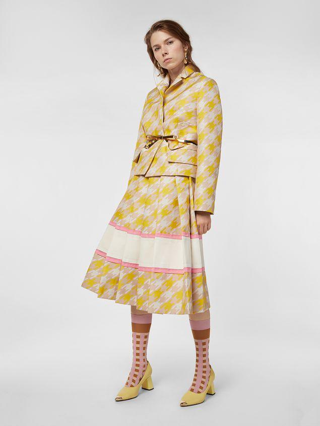 Marni Jacket in macro Houndstooth techno fabric  Woman - 1