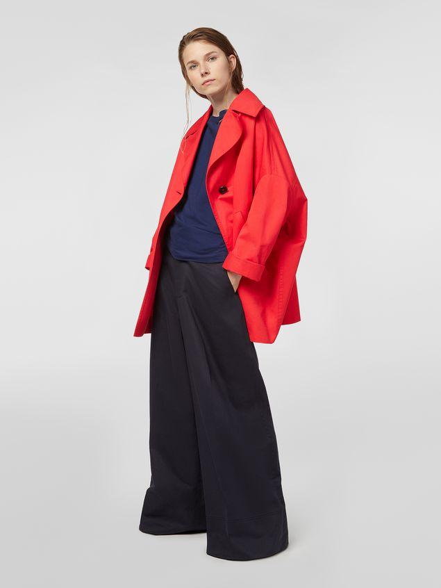 Marni Kimono jacket in cotton and linen drill Woman - 1