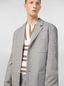 Marni 3-button jacket in micro check jacquard Man - 5