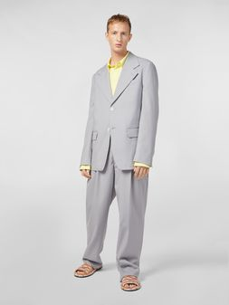 Marni 2-button jacket in tropical wool Man