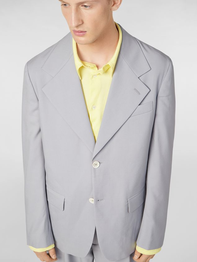 Marni 2-button jacket in tropical wool Man - 5