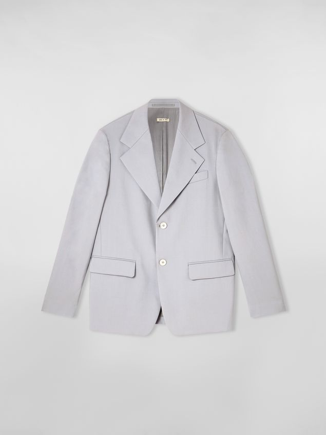Marni 2-button jacket in tropical wool Man - 2