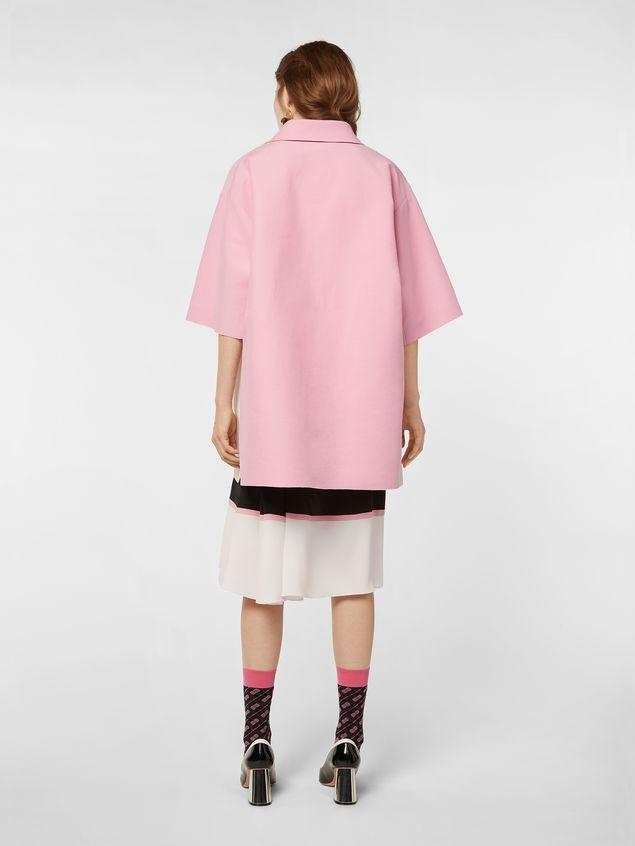 Marni Kimono-sleeved tunic in cotton cady Woman