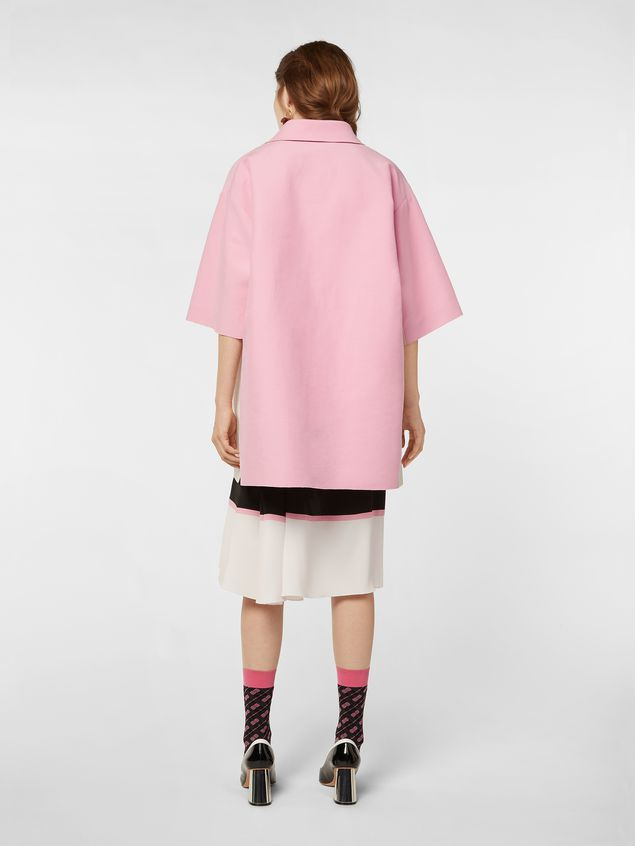 Marni Kimono-sleeved tunic in cotton cady Woman - 3