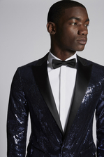 DSQUARED2 Paillettes London Blazer JACKET/BLAZER Для Мужчин