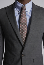 DSQUARED2 Cotton Check London Suit Suit Man