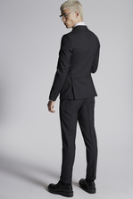 DSQUARED2 Micro Check Wool London Suit Suit Man