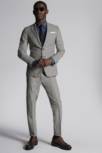 DSQUARED2 Check Wool Manchester Suit Suit Man
